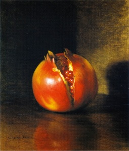 George Henry Hall: The Pomegranate