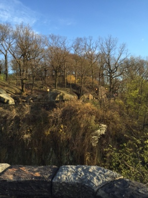fort tryon in spring